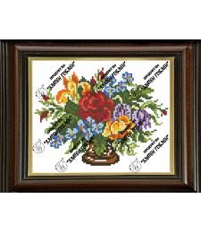 Ваза с цветя 1:4