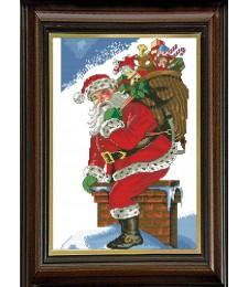 Дядо Коледа на покрива 1:1