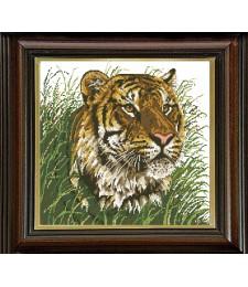 Тигър в саваната 1:1