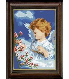 Ангелче с цветя 1:1