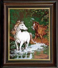 Коне в реката 1:4
