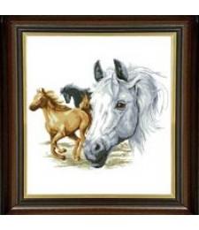 Волни коне 1:4